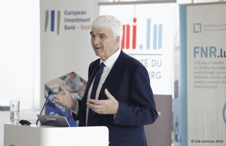 Blog - Dr Doug Willms speaks about Educational Prosperity at the University of Luxembourg