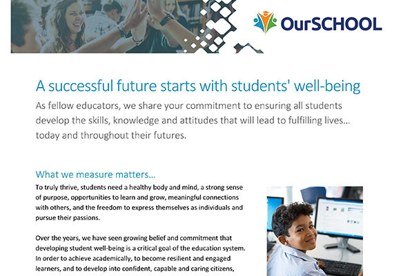 OurSCHOOL Survey - Well-being Information Sheet Thumbnail