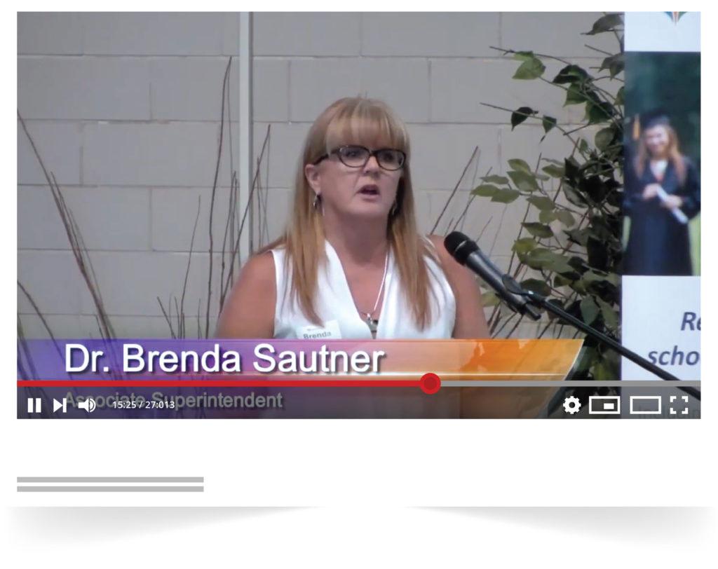 OurSCHOOL Survey - Using Well-being Data Presentation - Dr. Brenda Sautner