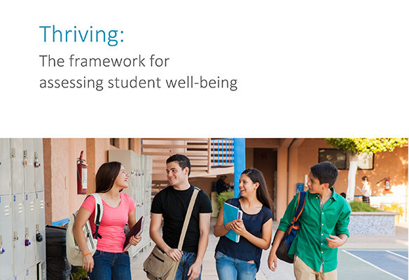 Thriving: The Framework for assessing student well-being Thumbnail